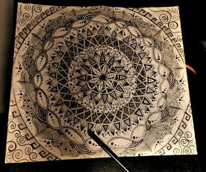 art, draw, and galaxy image