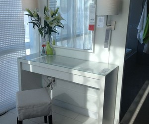 dressing table, vanity table with mirror, and makeup vanity table image