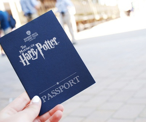 harry potter and passport image