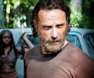 twd, andrew lincoln, and rick grimes image