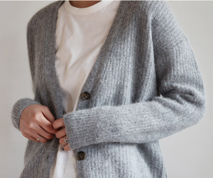 basic, cardigan, and clothes image