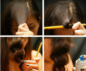 creativity, curles, and diy image