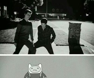teen wolf and adventure time image