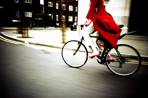 bike, red, and london image