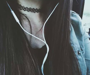 girl, grunge, and music image