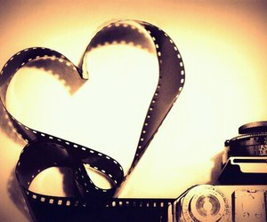heart, love, and camera image