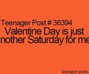 saturday, single, and Valentine Day image