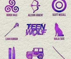 symbols and teen wolf image