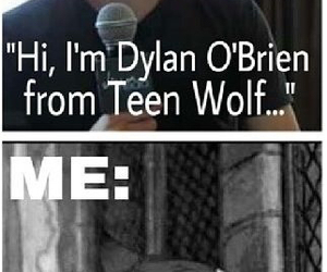 teen wolf, dylan o'brien, and fangirl image