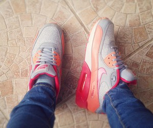 air max, fashion, and grey image