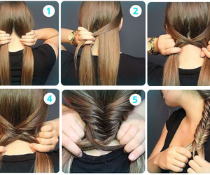 cabelo, cabelos, and hairstyle image