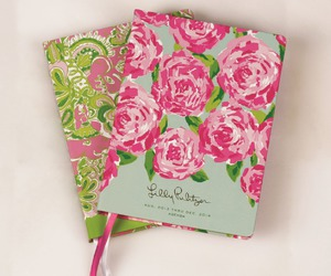 agenda, college, and flowers image