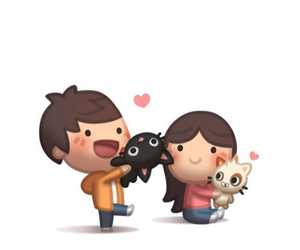 cat, pet, and love is image