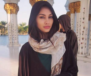 girl, hijab, and beauty image