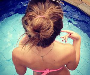 bikini, holiday, and travel image