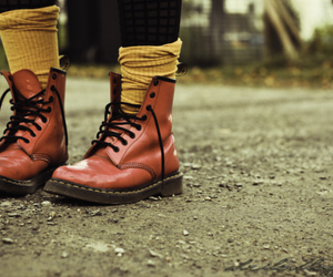 ed, dr.martens, and fashion image