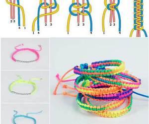diy, bracelet, and tutorial image