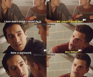 teen wolf, ethan, and dethan image