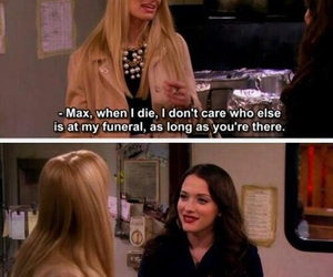funny, 2 broke girls, and friendship image