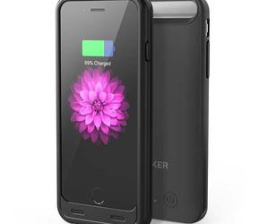 iphone 6, battery case, and iphone 6 case image