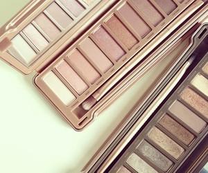 make up, eyeshadow, and makeup image