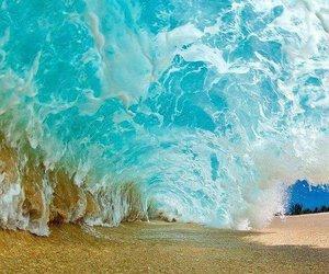 beach, sand, and beautiful image