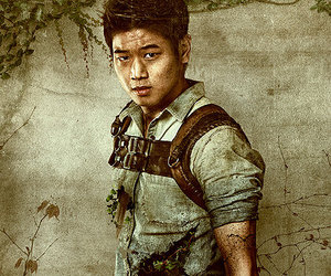 Minho, the maze runner, and ki hong lee image