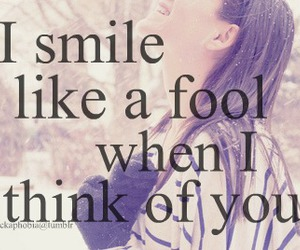 smile, fool, and quote image
