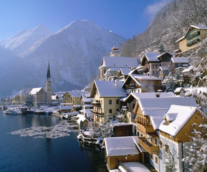 austria, hallstatt, and beautiful image