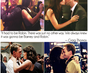 himym, how i met your mother, and barney and robin image