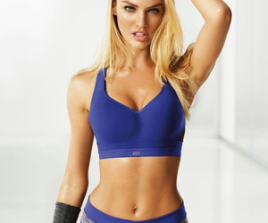 girl, fitness, and model image