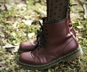 fashion and doc marten's image