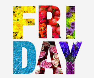friday and greetings image