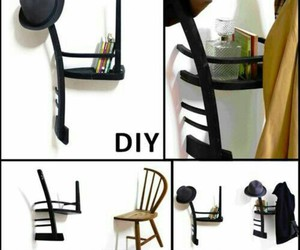 diy, book, and chair image