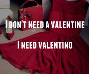 Valentino, valentine, and red image