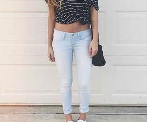 fashion, jeans, and oufit image