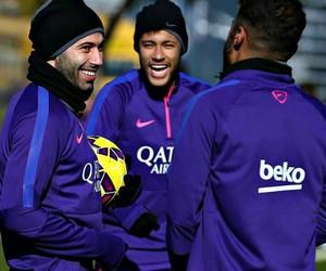 neymar jr, Barcelona, and rafinha image