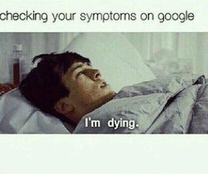 google, funny, and dying image