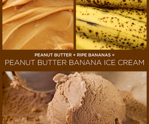 banana, ice cream, and dessert image