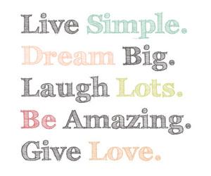 love, Dream, and laugh image