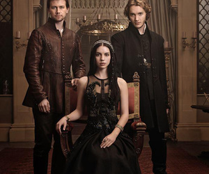 reign, bash, and francis image