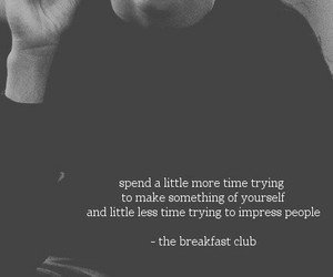 quotes, The Breakfast Club, and grunge image