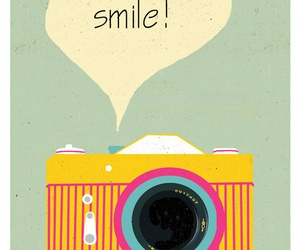 smile, camera, and wallpaper image