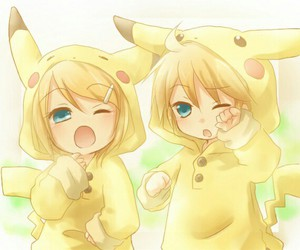 cosplay, kawaii, and pikachu image