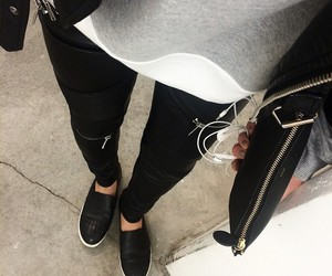 fashion, clothes, and sneakers image