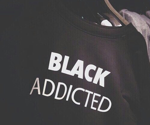 black, grunge, and addicted image