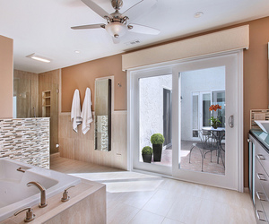bathroom, interior design, and newport beach image