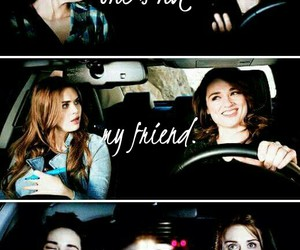 teen wolf, lydia martin, and sisters image