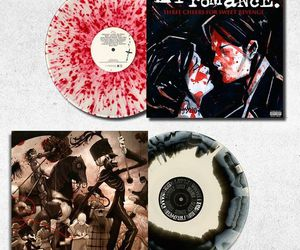 my chemical romance, the black parade, and vinyl image