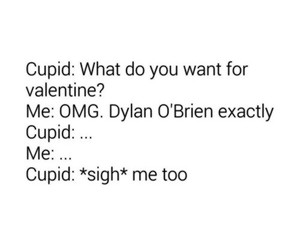 dylan o'brien, valentine, and teen wolf image